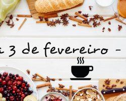 Café da Manhã de Boas Vindas – 2018