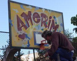 1º Voluntariado de pintura da quadras